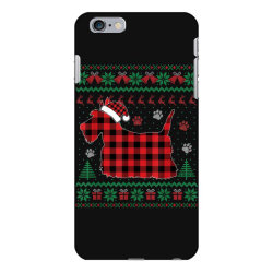scottie dog christmas iPhone 6 Plus/6s Plus Case | Artistshot