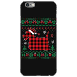 scottie dog christmas iPhone 6/6s Case | Artistshot
