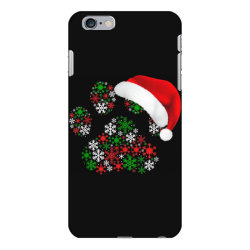 snowflakes dog paw santa iPhone 6 Plus/6s Plus Case | Artistshot