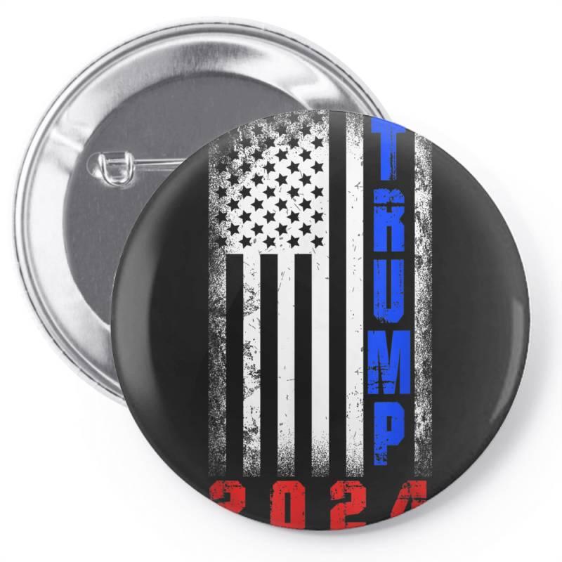Trump 2024 For President Pin-back Button | Artistshot