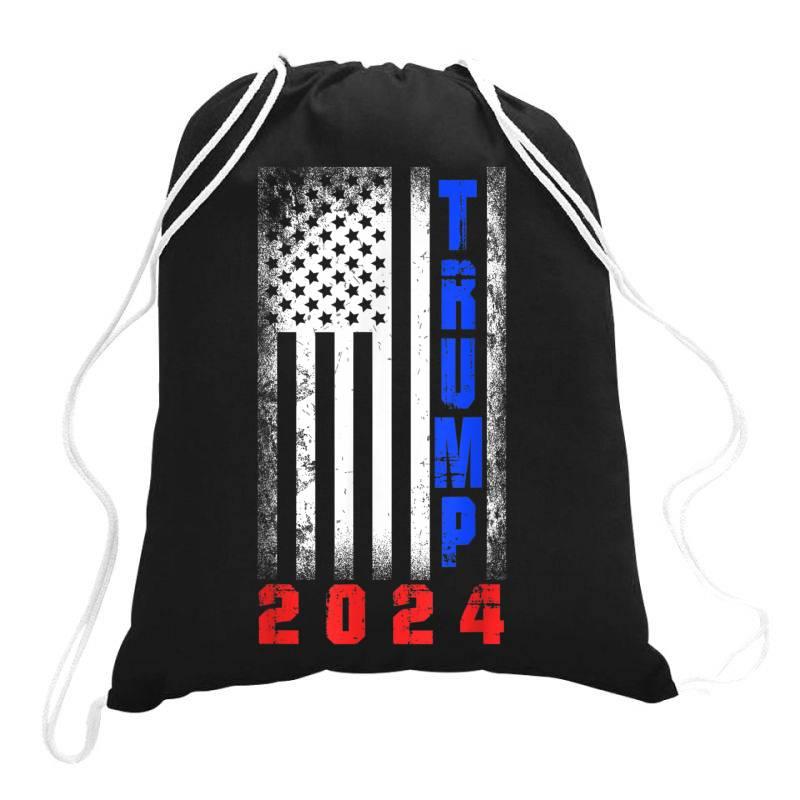 Trump 2024 For President Drawstring Bags | Artistshot