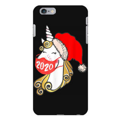 unicorn christmas face mask iPhone 6 Plus/6s Plus Case | Artistshot