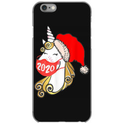 unicorn christmas face mask iPhone 6/6s Case | Artistshot
