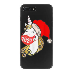 unicorn christmas face mask iPhone 7 Plus Case | Artistshot