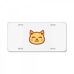 cute cat License Plate   Artistshot