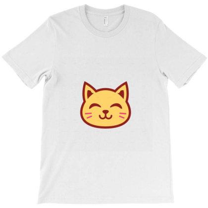 Cute Cat T-shirt Designed By Danz Blackbirdz