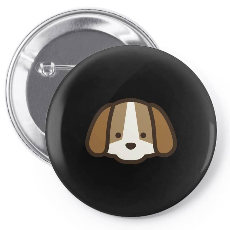 Cute Dog Pin-back Button | Artistshot