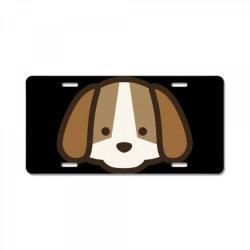 cute dog License Plate | Artistshot