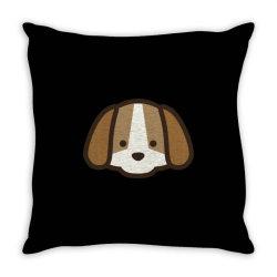 cute dog Throw Pillow | Artistshot