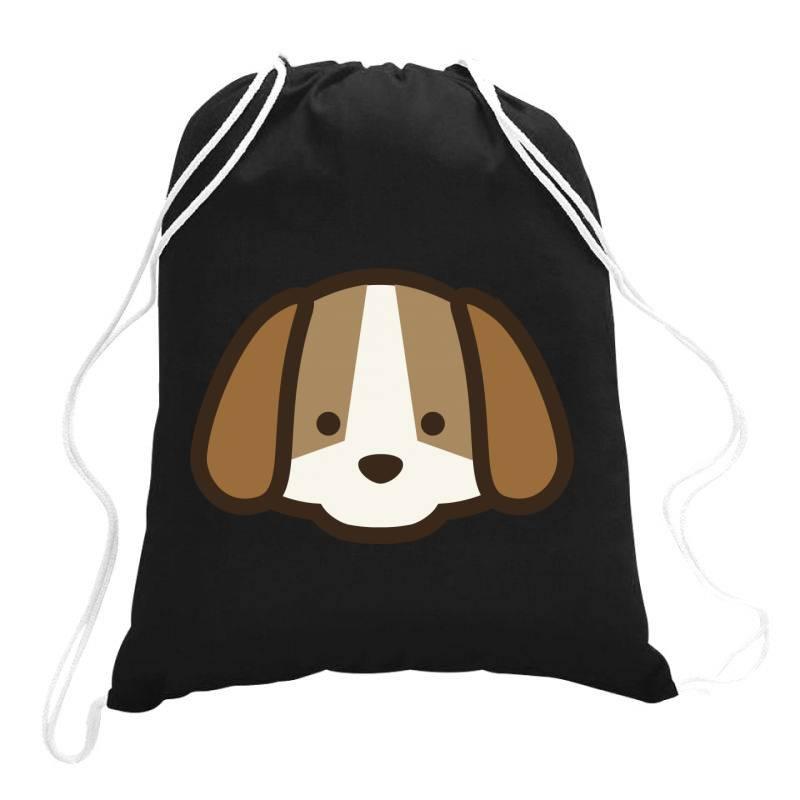 Cute Dog Drawstring Bags | Artistshot