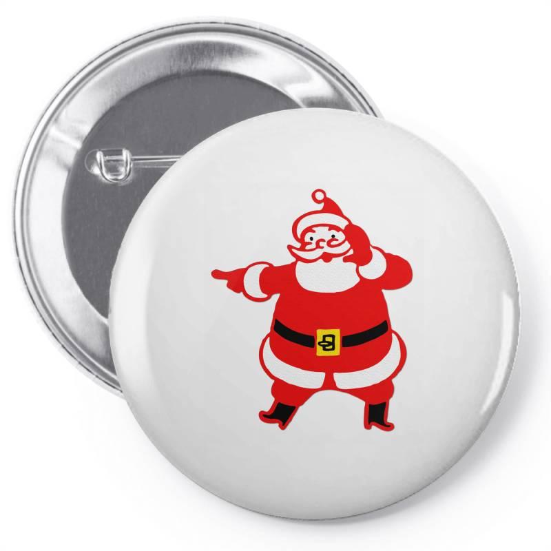 Mr. Santa Pin-back Button | Artistshot