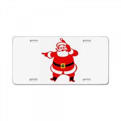 Mr. Santa License Plate | Artistshot