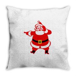 Mr. Santa Throw Pillow | Artistshot