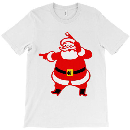 Mr. Santa T-shirt Designed By Danz Blackbirdz