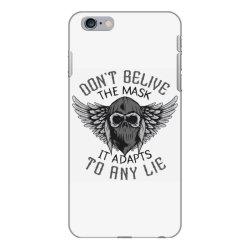skull in bandana and hoodie with wings iPhone 6 Plus/6s Plus Case | Artistshot