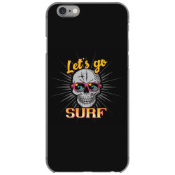 skull in glasses iPhone 6/6s Case | Artistshot