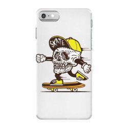 skull head skater skateboard iPhone 7 Case | Artistshot