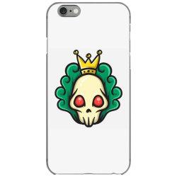 skull head with king crown iPhone 6/6s Case | Artistshot