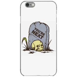 skull in the graveyard iPhone 6/6s Case | Artistshot