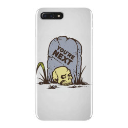 skull in the graveyard iPhone 7 Plus Case | Artistshot