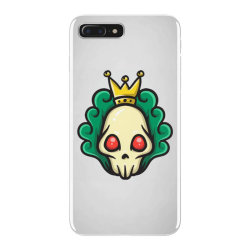 skull head with king crown iPhone 7 Plus Case | Artistshot