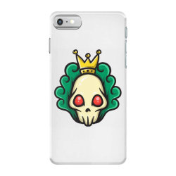 skull head with king crown iPhone 7 Case | Artistshot