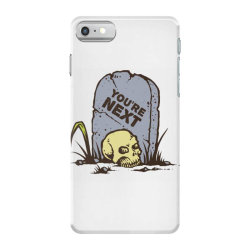 skull in the graveyard iPhone 7 Case | Artistshot