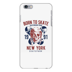 skull in skateboard helmet and two skateboards iPhone 6 Plus/6s Plus Case | Artistshot
