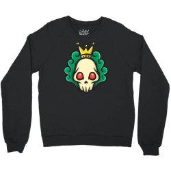 skull head with king crown Crewneck Sweatshirt | Artistshot