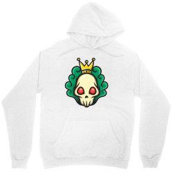 skull head with king crown Unisex Hoodie | Artistshot