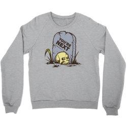 skull in the graveyard Crewneck Sweatshirt | Artistshot