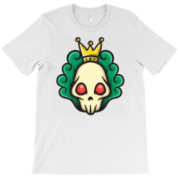 skull head with king crown T-Shirt | Artistshot