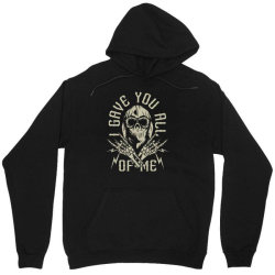 skull in bandana and hoodie with skeleton hands Unisex Hoodie | Artistshot