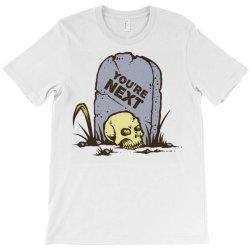 skull in the graveyard T-Shirt | Artistshot
