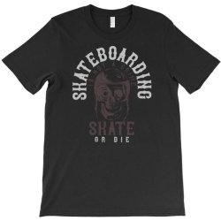 skull in skateboard helmet T-Shirt | Artistshot