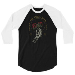skull hand rose 3/4 Sleeve Shirt | Artistshot