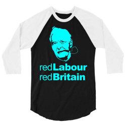 tony benn red labour 2 3/4 Sleeve Shirt | Artistshot