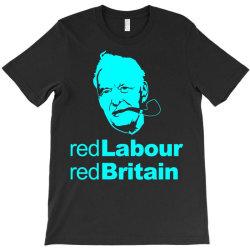 tony benn red labour 2 T-Shirt | Artistshot