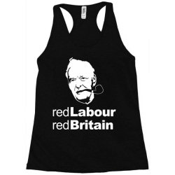 tony benn red labour Racerback Tank | Artistshot