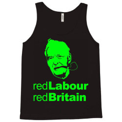 tony benn red labour 3 Tank Top | Artistshot