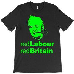 tony benn red labour 3 T-Shirt | Artistshot