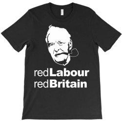 tony benn red labour T-Shirt | Artistshot