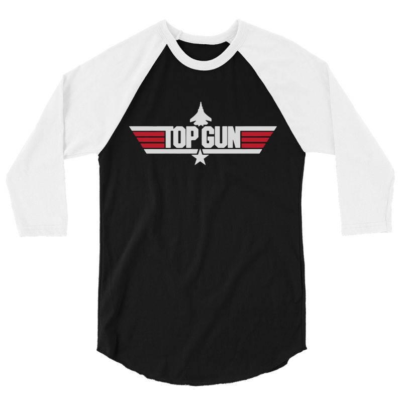 Topgun 3/4 Sleeve Shirt | Artistshot