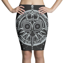 tribal mask Pencil Skirts | Artistshot