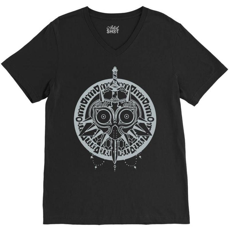 Tribal Mask V-neck Tee | Artistshot