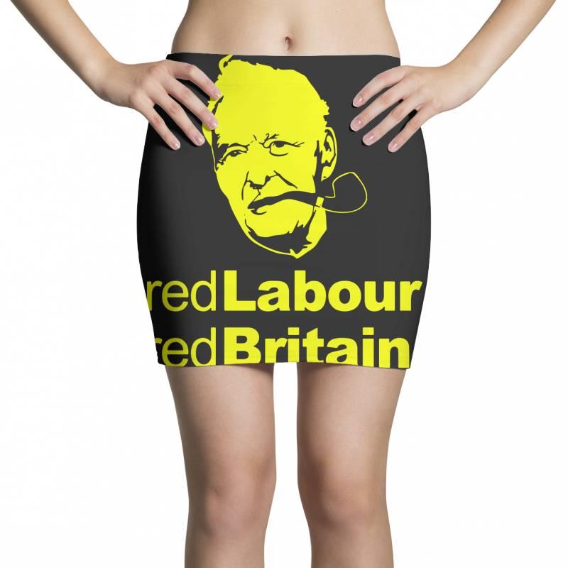 Tony Benn Red Labour 4 Mini Skirts   Artistshot