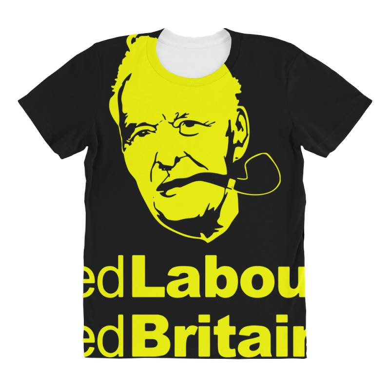 Tony Benn Red Labour 4 All Over Women's T-shirt | Artistshot