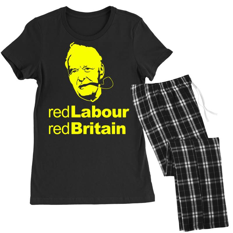 Tony Benn Red Labour 4 Women's Pajamas Set | Artistshot