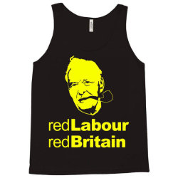 tony benn red labour 4 Tank Top | Artistshot