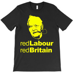 tony benn red labour 4 T-Shirt | Artistshot
